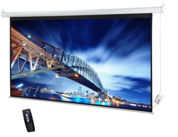 "DM TES-400 150""  4:3 Format Diagonal Electrical Projector Screen"