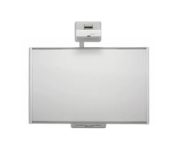 SMART Board M685 Interactive Whiteboard with U100w Projector