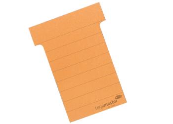 Legamaster T-cards 101 mm Wide 100 Pieces Orange